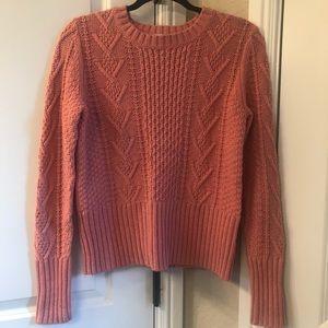 NWOT Gap Blush Pink Sweater